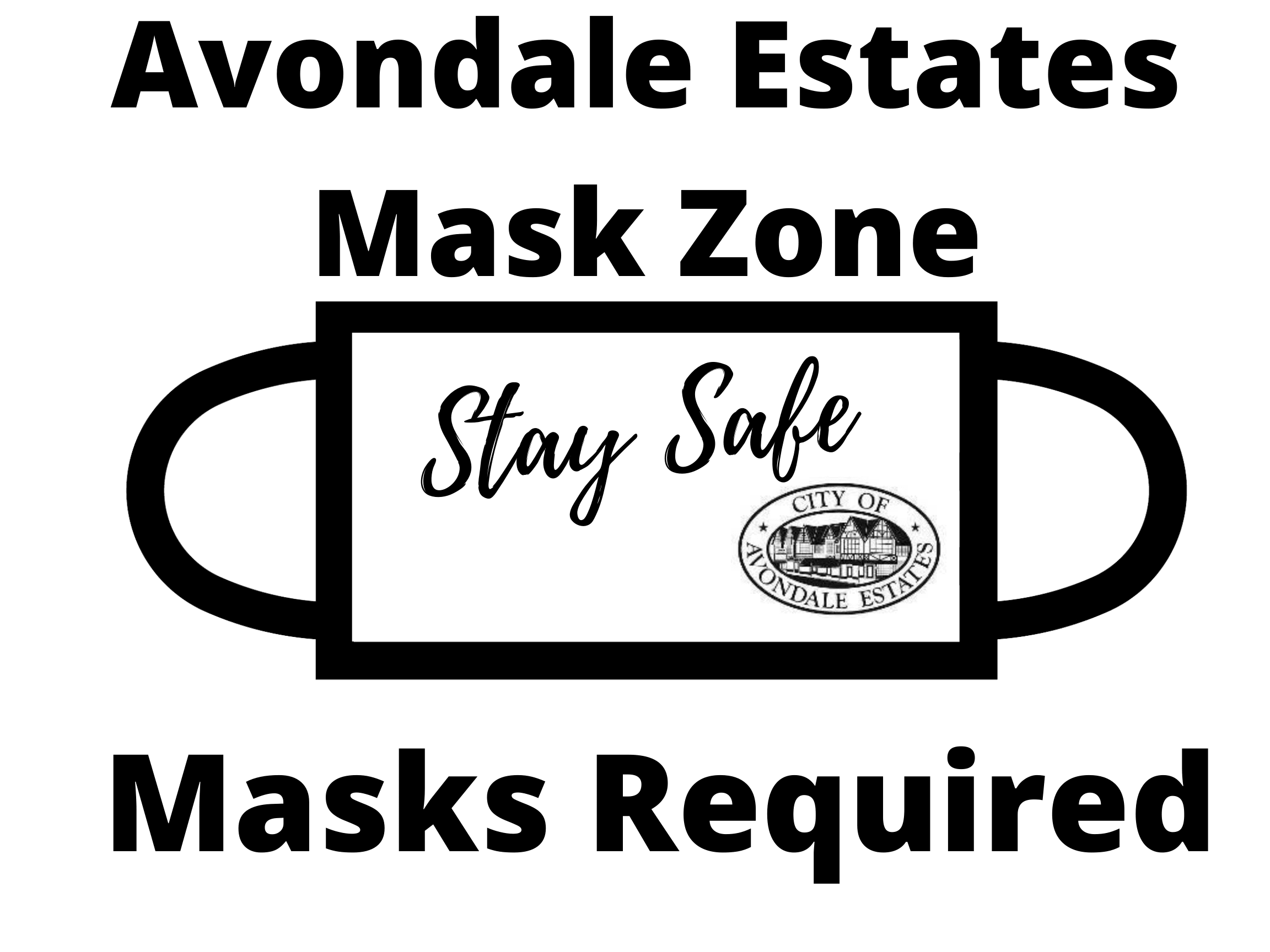 Mask Yard Sign (1)